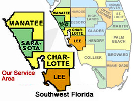 Lee County - Sarasota County Manatee County Charolette County Cleaning Services